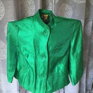 Ruby Rd. Green Blazer
